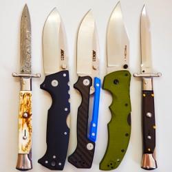 Складные ножи и автоматические