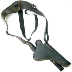 Кобура кожаная оперативная для револьвера Наган