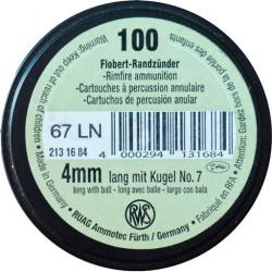 Патроны Флобера 4мм RWS Flobert-Randzunder